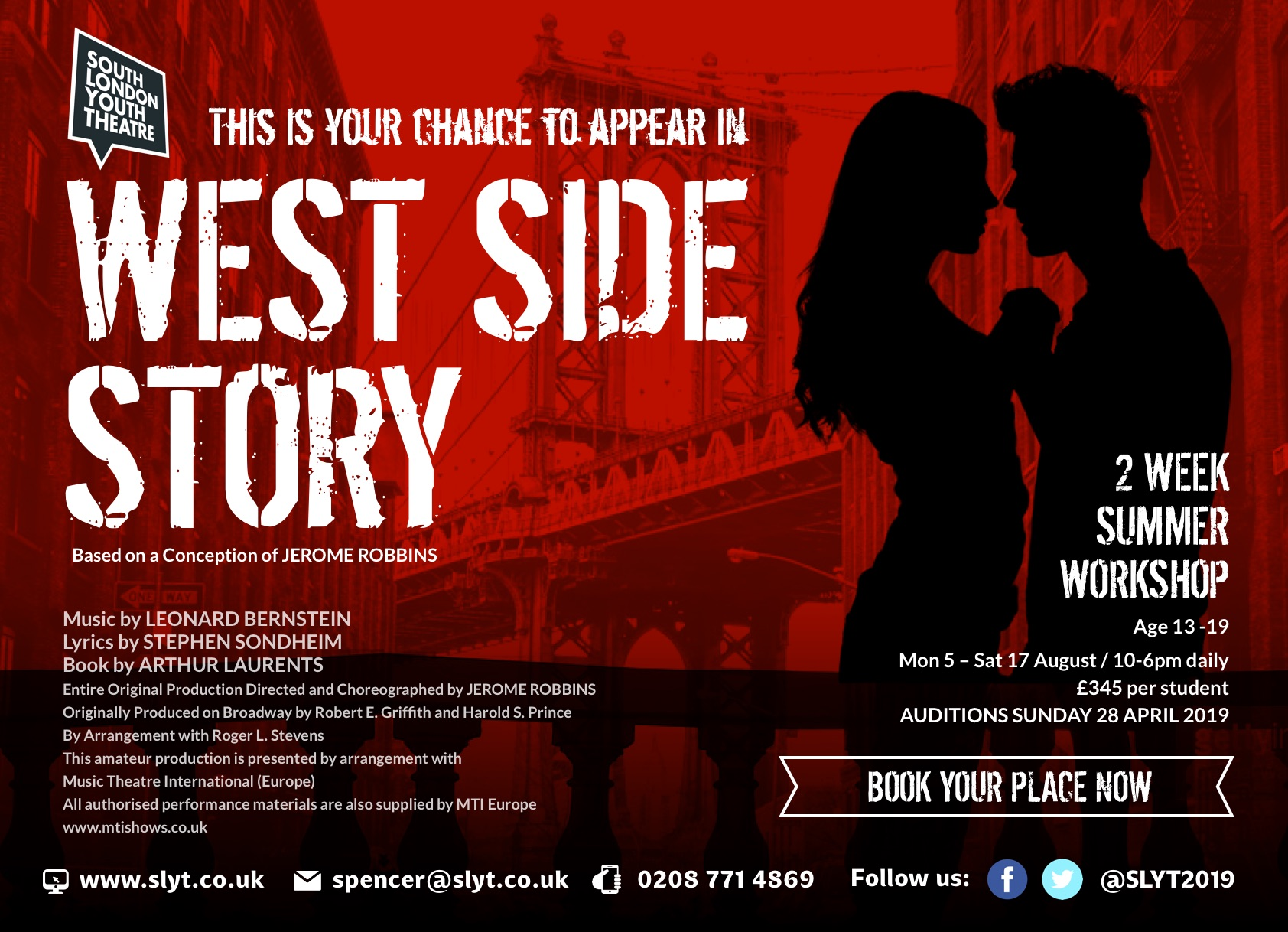West Side Story with SLYT
